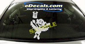 CRT569 Spinelli Cartoon Decal