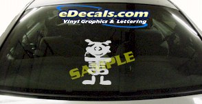 CRT572 Spinelli Cartoon Decal