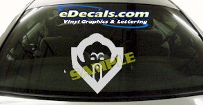 CRT607 Wise Guy Orient Cartoon Decal