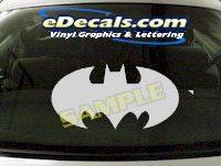 CRT624 Batman Cartoon Decal