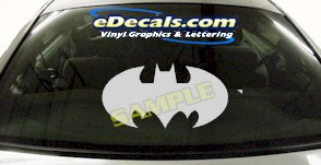 CRT624 Batman Cartoon Decal