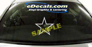 CRT625 Star Decal