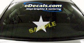 CRT626 Star Decal