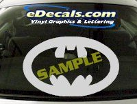 CRT630 Batman Cartoon Decal