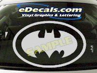 CRT632 Batman Cartoon Decal