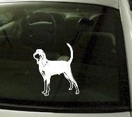 CRT739 Coon Hound Dog Cartoon Decal