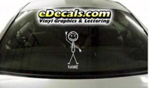 CRT771 sTiCk FiGuRe DaD CaRtOoN DeCaL