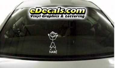 CRT773 sTiCk FiGuRe SoN CaRtOoN DeCaL