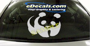 CRT840 Panda Animal Cartoon Decal