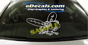 CRT869 Insect Animal Cartoon Decal