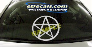 CRT970 PentaStar Devil Cartoon Decal