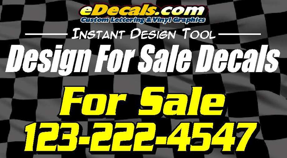 Custom9006 – For Sale Decals