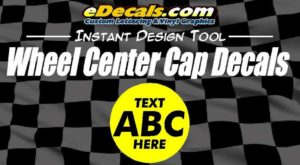 Wheel Center Cap Decal Stickers