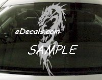 DRG112 Tribal Dragon Decal