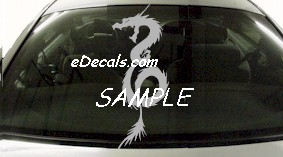 DRG113 Tribal Dragon Decal