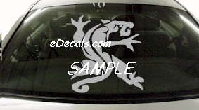 DRG116 Tribal Dragon Decal