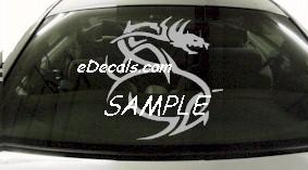 DRG118 Tribal Dragon Decal