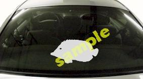 FSH106 Butterfish Fish Decal