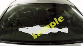 FSH109 Cod Fish Decal