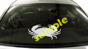 FSH110 Crab Fish Decal