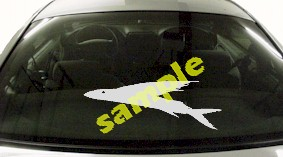 FSH114 Flying Fish Decal