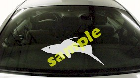 FSH118 Guppy Fish Decal