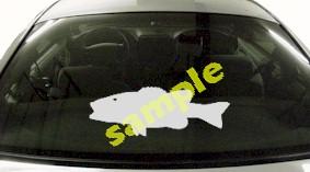 FSH123 Largemouth Bass Fish Decal