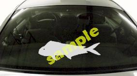 FSH128 Mahi Mahi Fish Decal