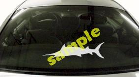 FSH130 Marlin Fish Decal