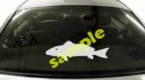 FSH137 Redfish Fish Decal