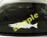 FSH143 Salmon Fish Decal