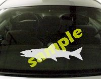 FSH144 Salmon Fish Decal
