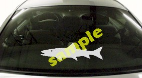 FSH144 Salmon Fish Decal