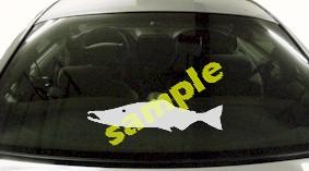 FSH145 Salmon Fish Decal