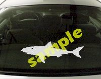 FSH150 Shark Fish Decal