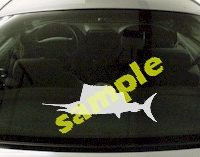 FSH155 Spearfish Fish Decal