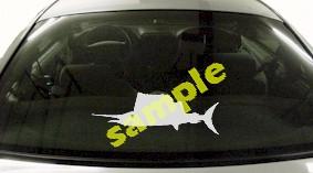 FSH155 Spearfish Fish Decal
