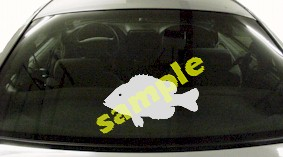 FSH159 Sunfish Fish Decal