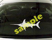 FSH160 Swordfish Fish Decal