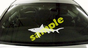 FSH162 Thresher Shark Fish Decal
