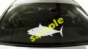 FSH165 Tuna Fish Decal