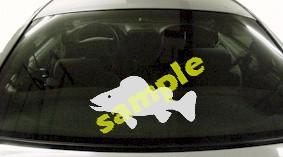 FSH166 Walleye Fish Decal