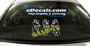 FTS126 Mice Mouse Fantasy Cartoon Decal