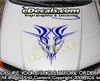 HDA100 Tribal Hood Accent Graphic Decal