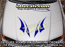 HDA211 Hood Accent Graphic Decal