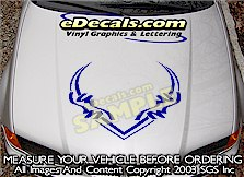 HDA212 Hood Accent Graphic Decal