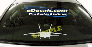 MIL101 Military Aircraft Airplane Decal
