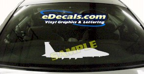 MIL105 Military Aircraft Airplane Decal