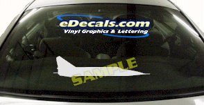 MIL108 Military Aircraft Airplane Decal
