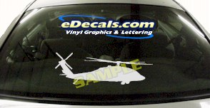 MIL120 Military Aircraft Airplane Decal